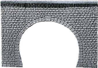 FALLER170881 Decorative sheet tunnel portal Pros, Natural stone ashlars (HO)