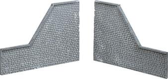FALLER 170899 Decorative sheet retaining wall Pros, Natural stone ashlars (HO)
