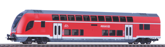 PIKO 58805 Bi-Level Control Coach DB Regio VI  (DC HO)