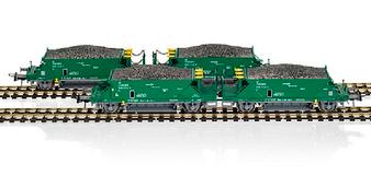 MABAR 81717 SET 4 RENFE HOPPERS(DC HO)