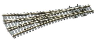 PECOSL-E99 3 Way Turnout, Medium Radius (DC HO) Electrofrog