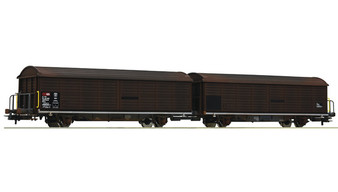 ROCO 76152 - Double sliding wall wagon unit, SBB (DC HO)