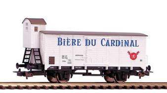 """PIKO 58929 Beer car G02 """"Cardinal Beer"""" SBB III (DC HO)"""