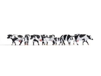 NOCH 15725 Cows, black-white (HO)