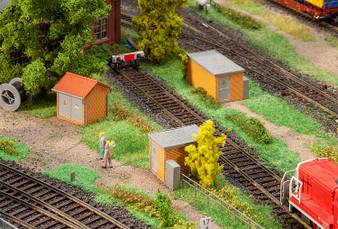FALLER 120266 3 Substations, brick construction (HO)