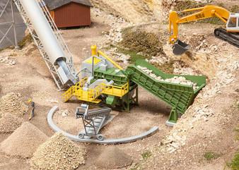 FALLER 130173 Jaw crusher with conveyor belt (HO)