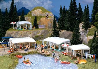 FALLER 130503 Set of camping caravans (HO)