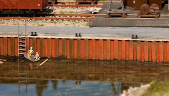 FALLER 131012 Quay wall (HO)