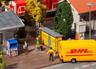 FALLER 180281 2 DHL pack stations(HO)