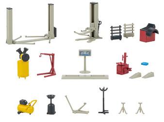 FALLER 180356 Car workshop equipment (HO)