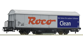 ROCO 46400 - ROCO-Clean track cleaning wagon (DC HO)