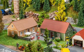 FALLER 130607 2 Village houses  (DC HO)