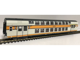 VITRAINS 3161 VB2N Mixed 1a/2a Class Livery Of Origin Grey/Orange Logo Encadré (DC HO)