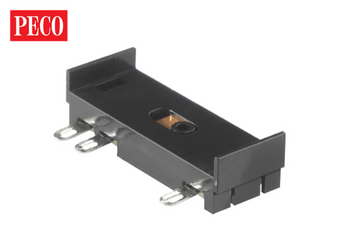PECO IL-120 Conductor Rail Chairs 10 PIECES (DC HOPL-13 Accessory Switch (Turnout Motor Mounting)