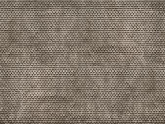 """NOCH 56691 3D Cardboard Sheet """"Plain Tile"""" (HO) 25X12.5CM"""