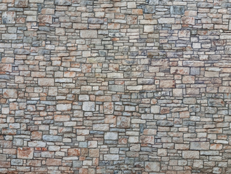 "NOCH 56640 3D Cardboard Sheet ""Quarrystone Wall"" (HO) 25X12.5CM"