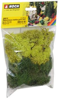 NOCH 08610 Lichen(HO)green mix assorted, 35g bag