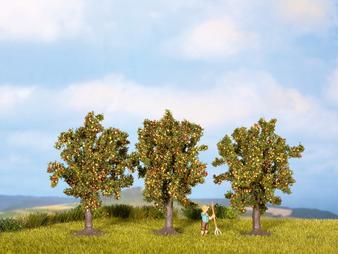 NOCH 25113 Apple Trees (HO)  3 pieces