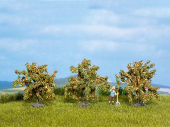 NOCH 25114 Orange Trees (HO)  3 pieces