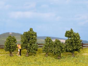 NOCH 25410 Green bushes (HO)  5 pieces