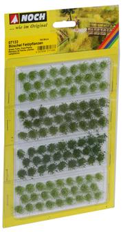 NOCH 07133 Grass Tufts Field Plants (HO) 104 pieces