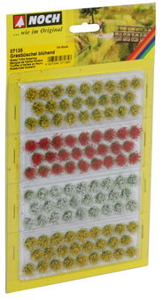 NOCH 07135 Grass Tufts Flowering (HO) 104 pieces