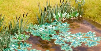 NOCH 14114  Lotus Flower (HO) 6 pieces
