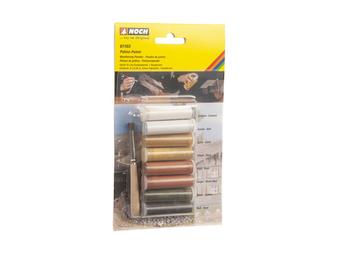 NOCH 61165  Weathering Powder (HO) 8 color