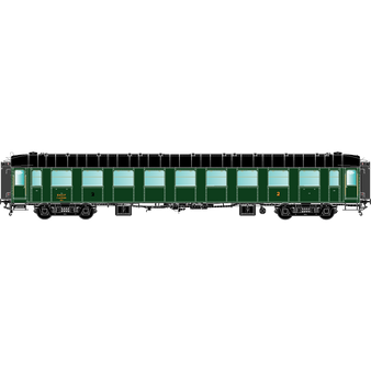 R37 42269 O.C.E.M. RA : B9myfi 18443, SNCF SUD-OUEST, Paris-Batignolles, Ep 3A avec échelle et passerelles (DC HO)