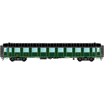 R37 42262 O.C.E.M. RA : B9myfi 5506, SNCF SUD-EST - PARIS-LAVAGE, Ep 3A, avec échelle et passerelles (DC HO)