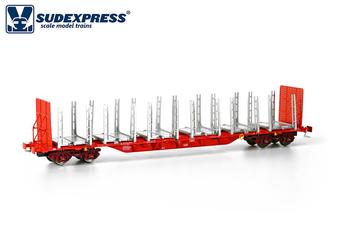 SUDEXPRESS TAKARGO SGNSS 110 Wood Transport(DC HO)