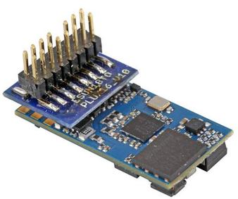 """ESU 58814 Gauge H0 LokSound 5 micro DCC / MM / SX / M4 """"empty decoder"""", PluX16 with speaker 11x15mm"""