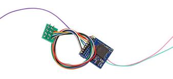 ESU 59210 H0 LokPilot 5 Fx DCC/MM/SX, 8-pin NEM652,  H0, 0