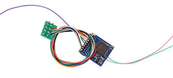 ESU 59220 Gauge H0 function decoder LokPilot 5 Fx DCC, 8-pin NEM652, gauge H0, 0
