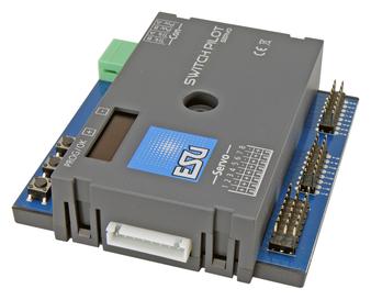ESU 51832 Gauge Neutral SwitchPilot 3 Servo, 8x servo decoder, DCC/MM, OLED, with RC-Feedback