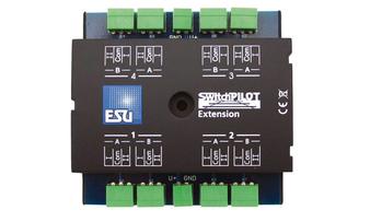 ESU 51801 Gauge Neutral SwitchPilot Extension, 4 x relay output
