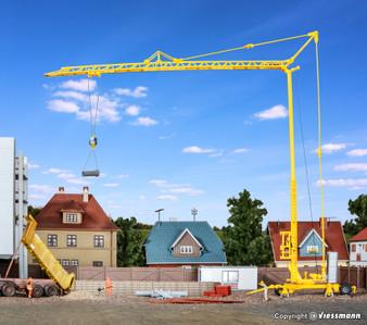 Kibri 10390 Gauge H0 LIEBHERR SK 20 quick-assembly crane with trailer; kit (HO)