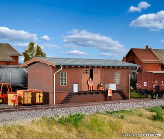 KIBRI 39306 Freight shed Oberzeisel (HO)
