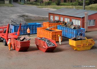 KIBRI 38648 Container assortment (HO)
