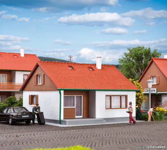 KIBRI 38721 H0 Family house Untere Aue (HO)