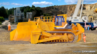 KIBRI 11354 KOMATSU bulldozer D575 A-2 (HO)