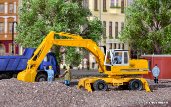 KIBRI 11264 LIEBHERR mobile excavator A922 with attachments (HO)