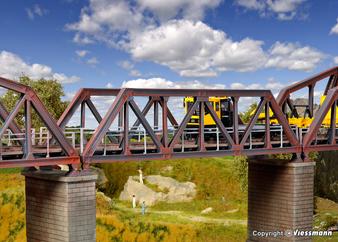 KIBRI 39701 Steel truss bridge, single track (HO)