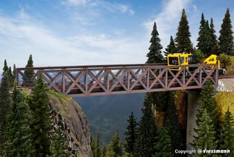 KIBRI 39702  Framework steel bridge, single track (HO)