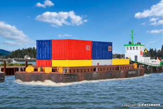 KIBRI 38524 Lighter for bulk goods or containers (HO)
