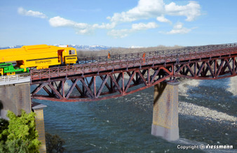 KIBRI 39703 Fish belly beam bridge, single track (HO)