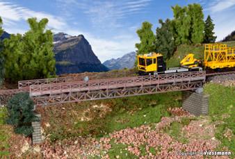 KIBRI 39707 Framework steel girder bridge, single track (HO)