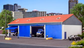 KIBRI 38136 H0 Garage for 4 lorries (HO)