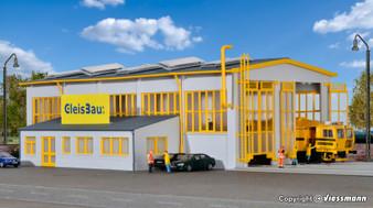 KIBRI 39324 Maintenance hangar GleisBau (HO)