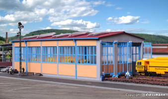 KIBRI 39450 Loco shed, tripple track (HO)